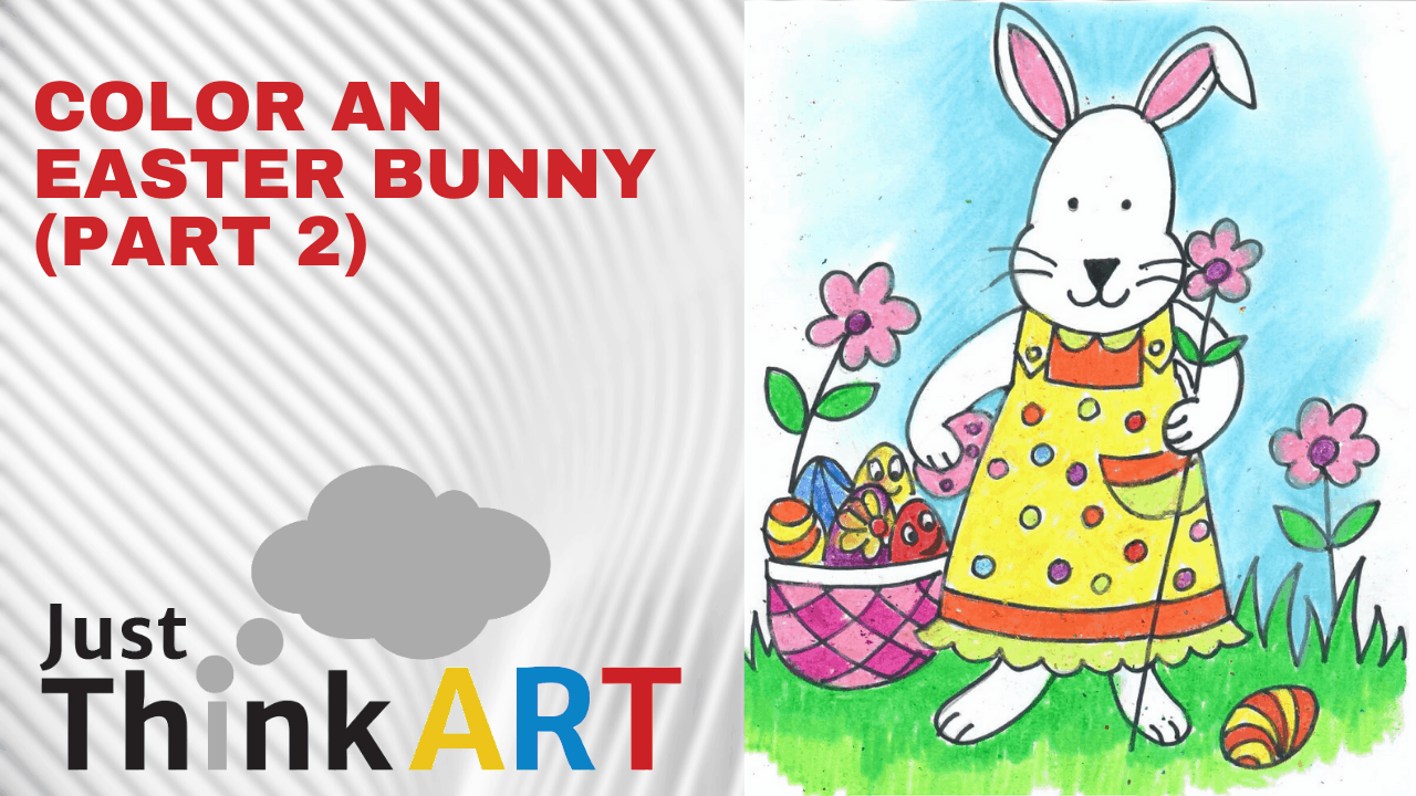 Color an Easter Bunny