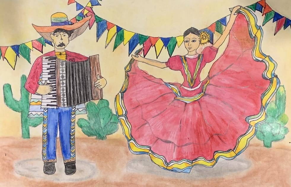 Celebrating Cinco de Mayo by Anish e1588640178539 Art of the Month