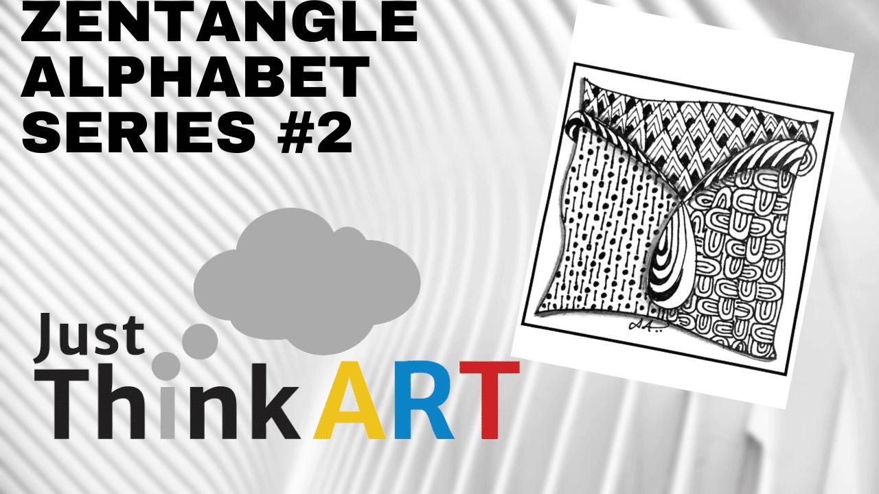 Zentangle Alphabet Series #2