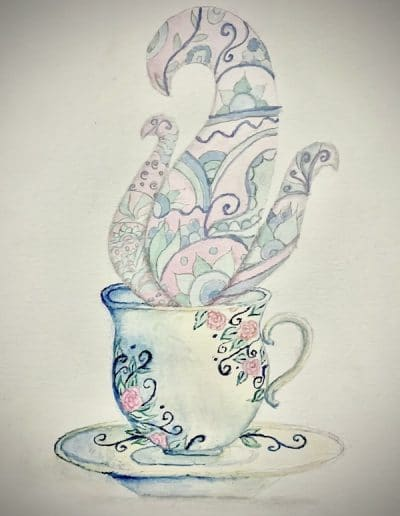Tea time by Tamanna Previous Art of the Month