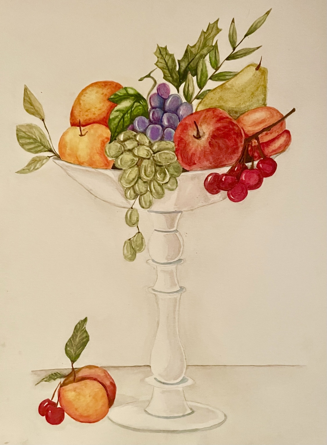 Fruit bowl water colors by Eesha Student Work